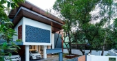 A house in Thrissur remodelled through 100-day challenge