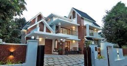This fusion house in Changanassery is chic, classy and comfortable