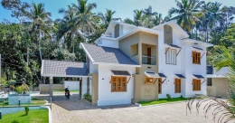 Classy and chic, this fusion house in Malappuram is a head turner