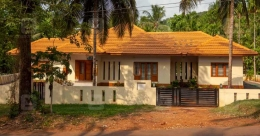 A fantastic library is the highlight of this quaint Kasaragod house