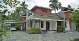 Blend of exquisite environs, breathtaking design for a house in Thrissur