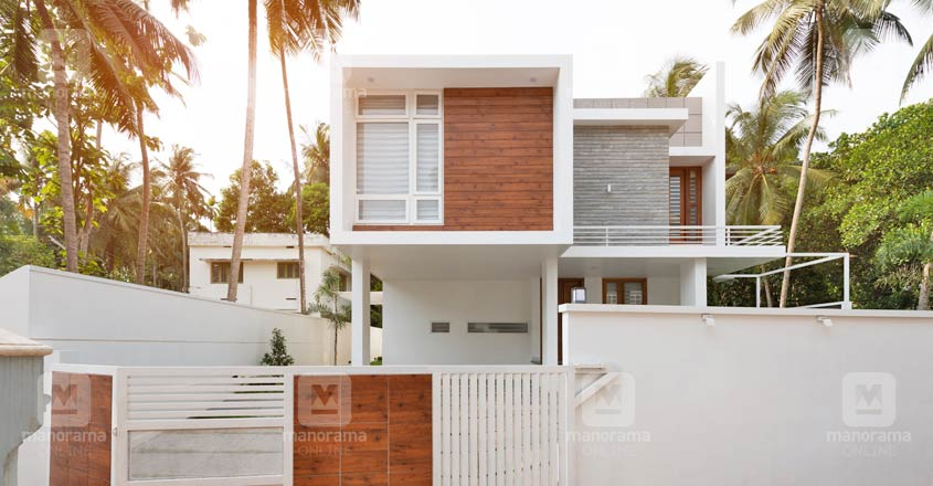 Elegant charm of minimalism makes this Kozhikode house stand out