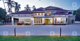 Spectacular design, luxuriant spacing make this Kozhikode mansion awesome
