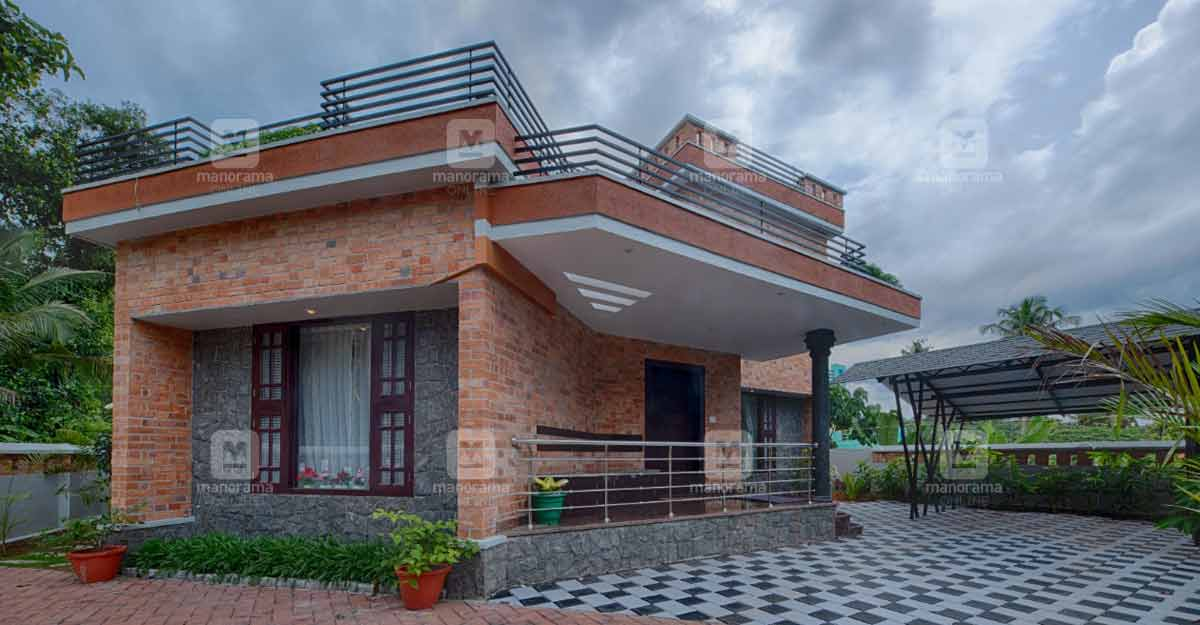 10-cent-home-kollam-exterior