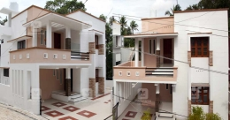 This luxury mansion on 3 cents is a stunning abode in Sreekaryam