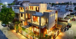 This magnificent mansion in Ahmadabad stands on just 5 cents