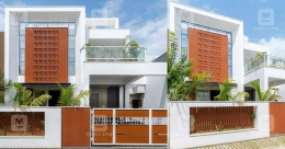 Environment-friendly house in Vadodara that stands on just 4 cents