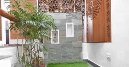 Gulmohar, the name sums it up well for the eco-friendly house in TVPM