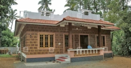 Energy-efficient house in Chalakudy on a low budget