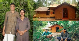 Meet owners of a unique and eco-friendly mud house in the lap of nature