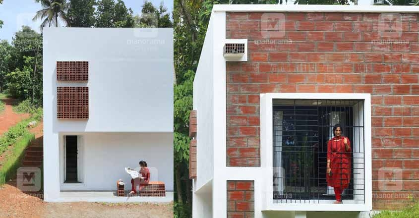 Design bestows uniqueness to lottery seller's 'budget' home