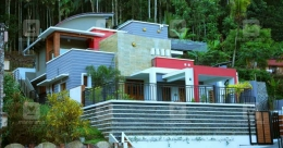 Multi-level house on a slope in Konni that is a design marvel