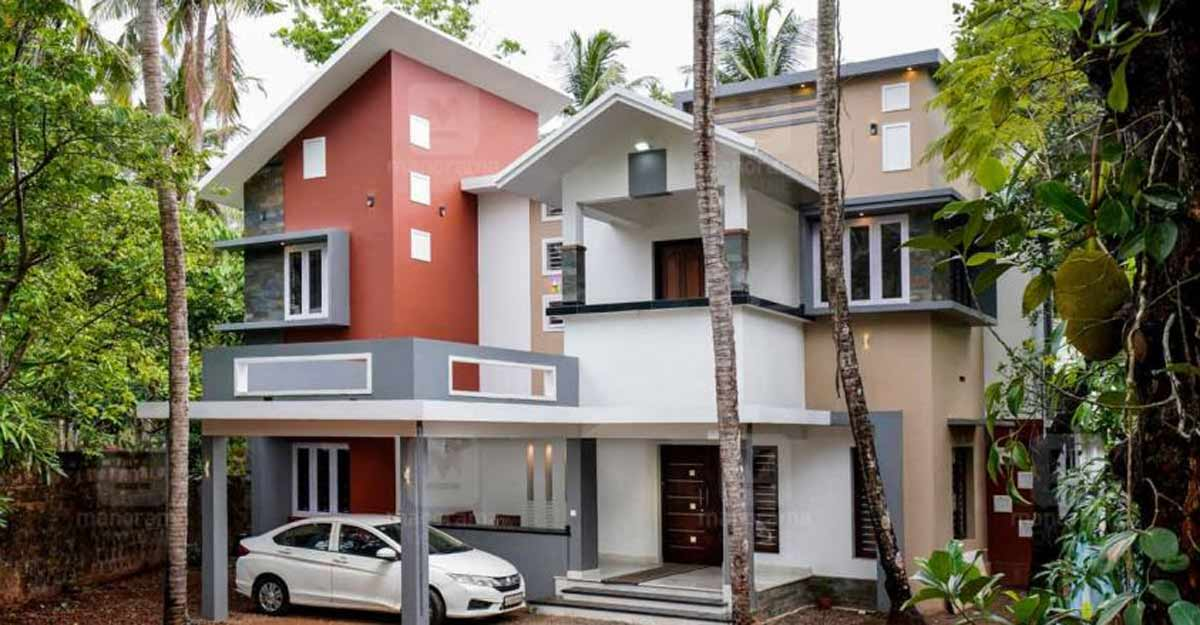 Malappuram house looks magnificent after being remodelled
