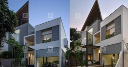 Luxury mansion in Kakkanad for two brothers is an architectural marvel