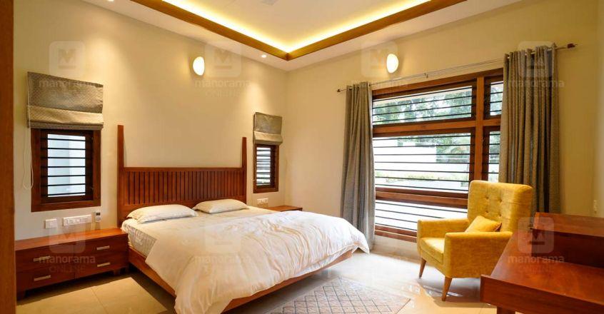 Areekode House bedroom