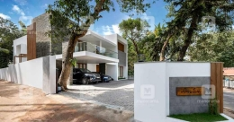 A fusion house in TVPM evincing chic, modern and traditional styles