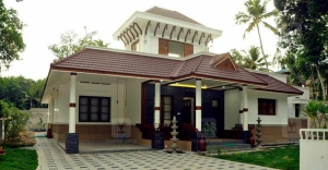 Traditional features abound in this space-efficient Attingal house