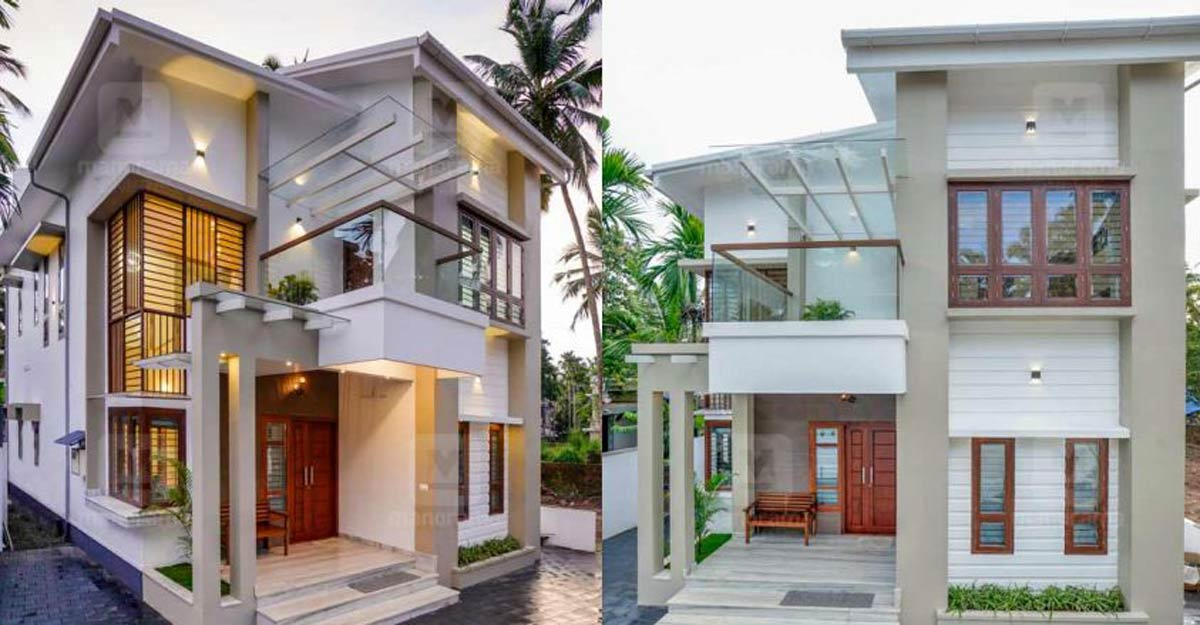 Classy, space-efficient Koyilandi house sets example for smart designing