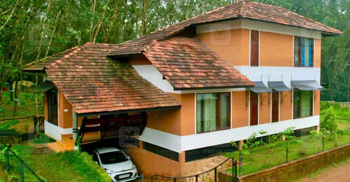 Unique building technology combines with sustainability at this Kakkanad house