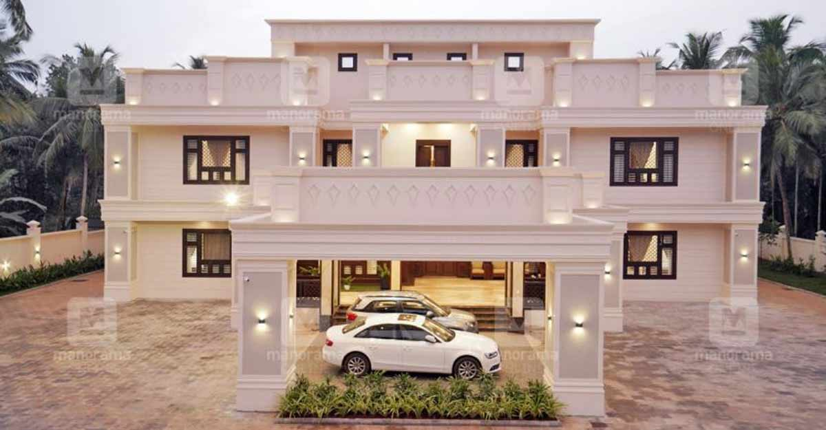 This grand Malappuram mansion in 12500 sqft is a haven of luxury and opulence