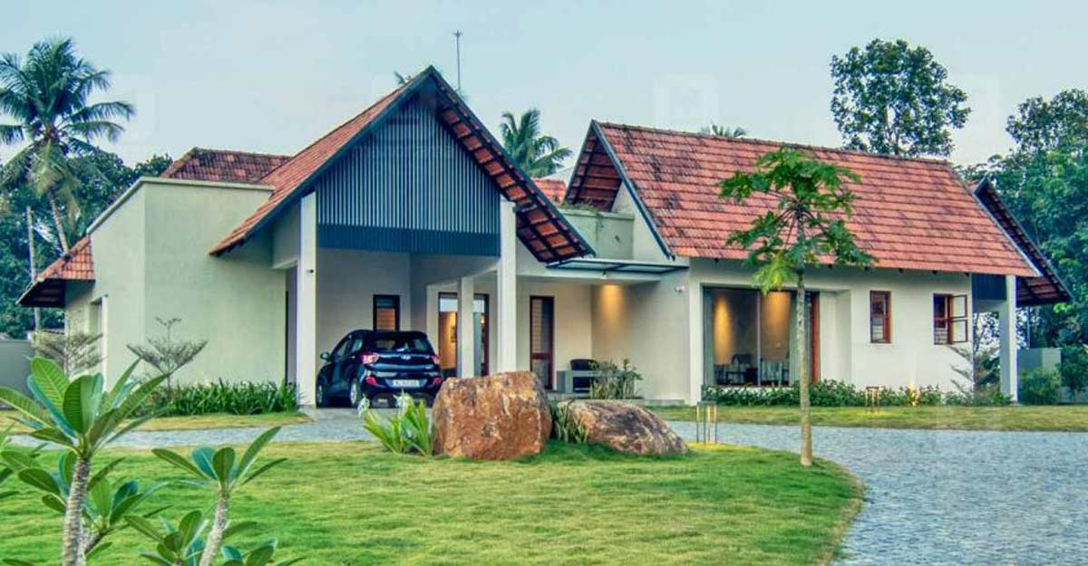 Unique landscape, flamboyant design mark this quaint house in Kottayam