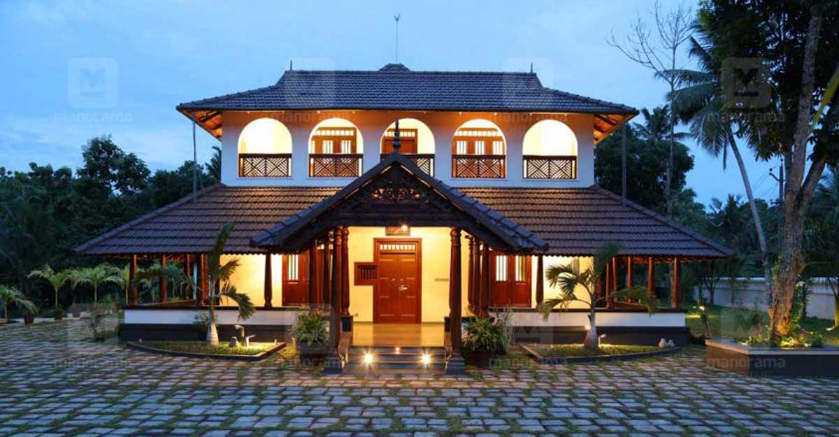 Tradition joins hands with modernity in this grand Kumbanad mansion