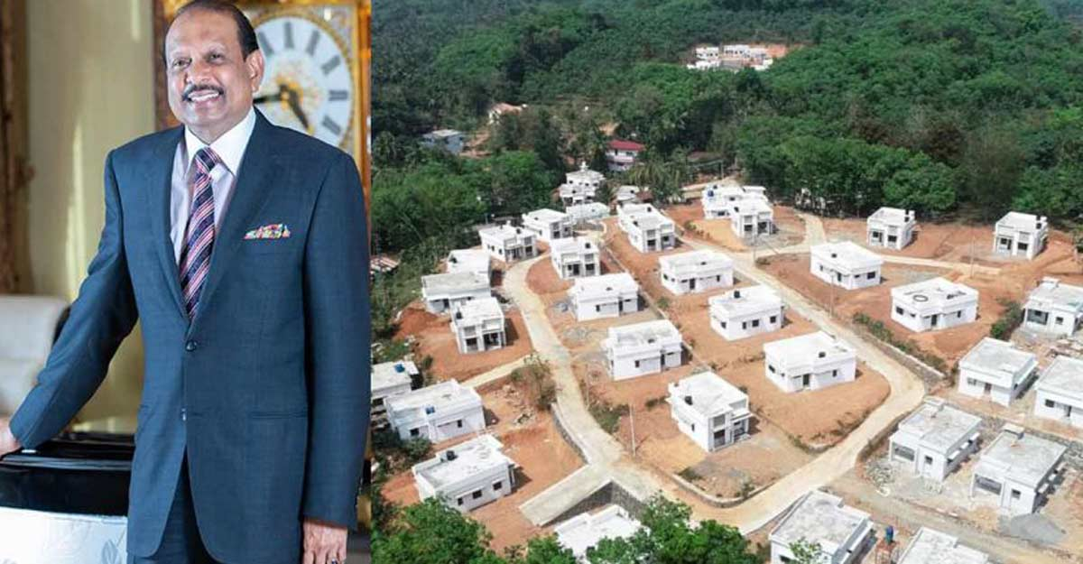 As promised Lulu Group chairman hands over houses to Kavalapara survivors