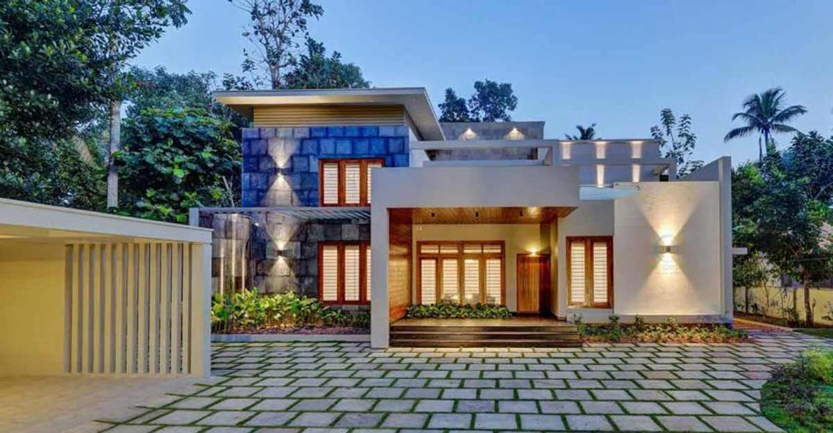 A brilliantly designed mansion in Kottayam that exudes cosy comforts