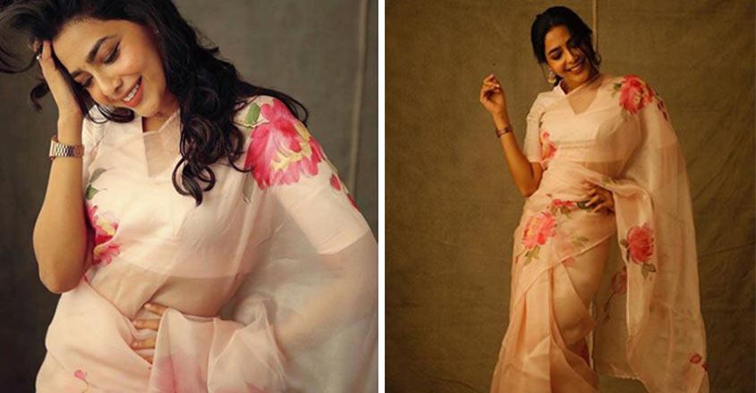 aishwarya-lekshmi-saree