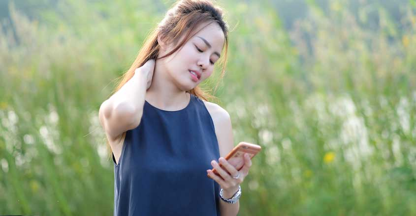 Gadget-induced 'text neck syndrome' and how to cure it