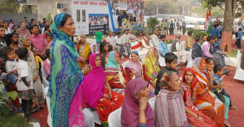 New Delhi: A view of a mohalla clinic at Sarai Kale Khan ISBT in New Delhi on Dec 2, 2016. (Photo: IANS)