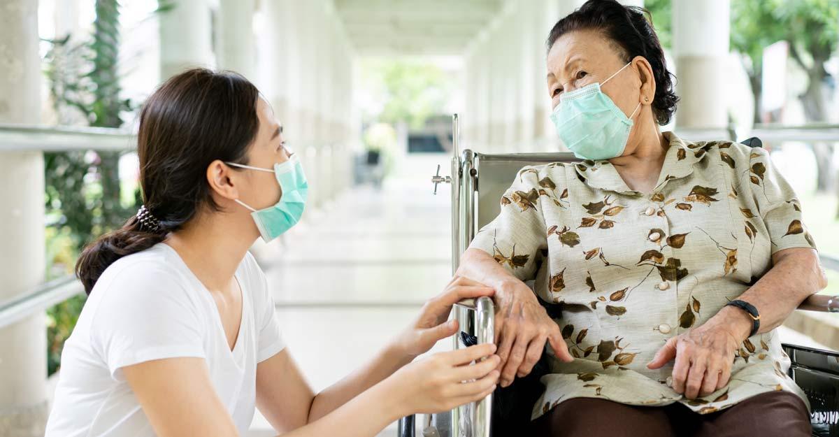 elderly covid care