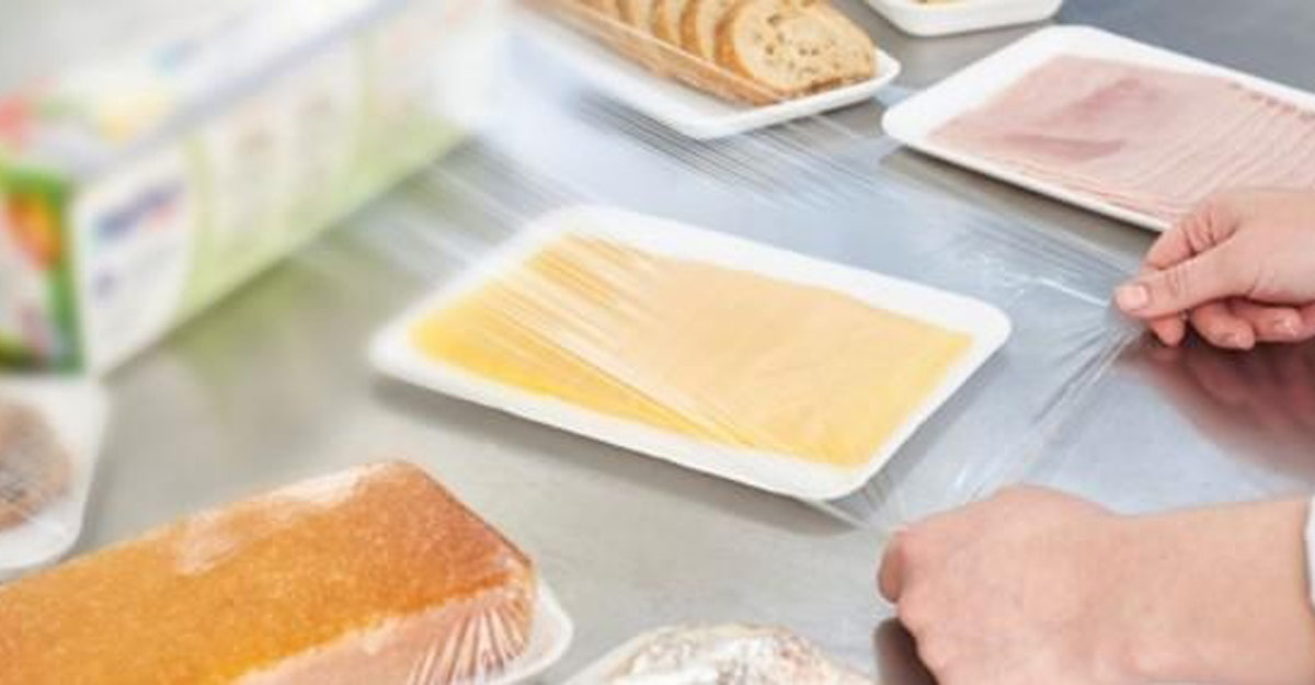 This plastic film used in food packaging can inactivate Covid virus.