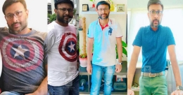 An ill-fitting t-shirt and a tale of weight loss