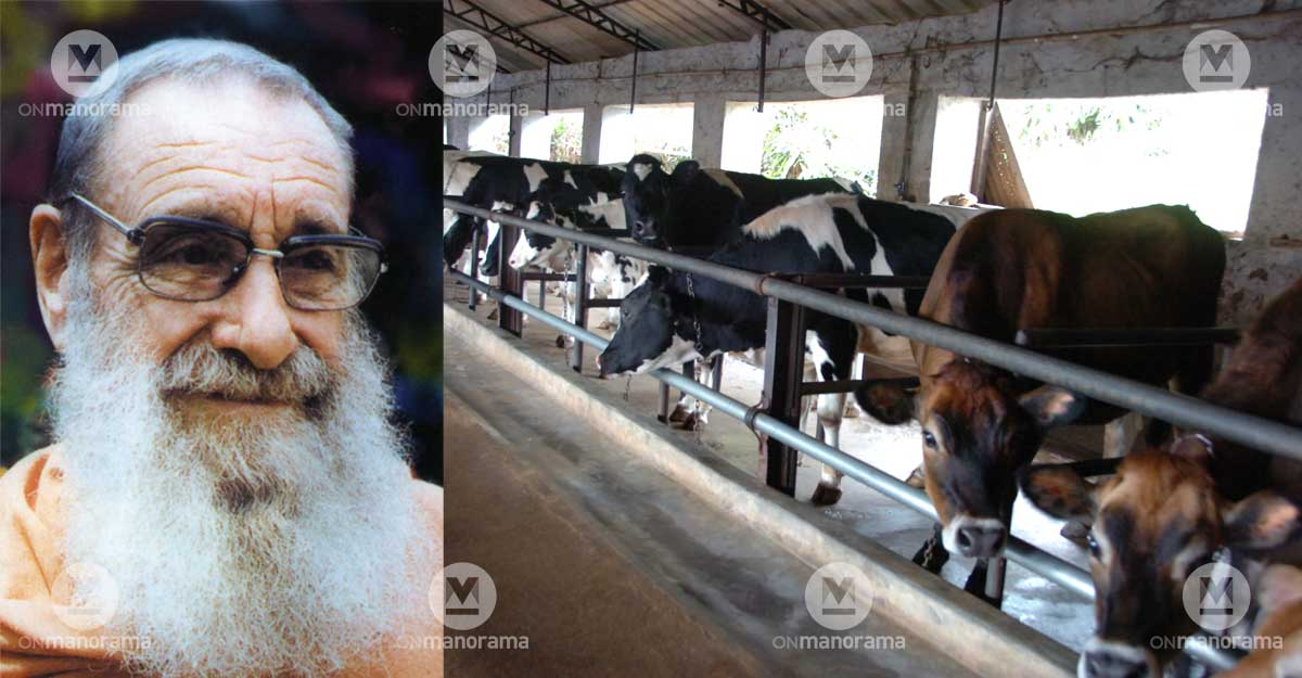 Column: A Belgian monk, Swiss largesse and Kerala cows