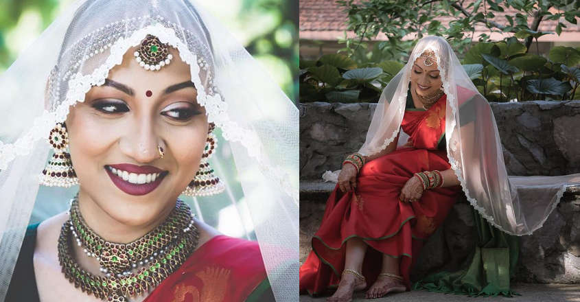 Cancer survivor's 'Bold Indian Bride' photo shoot goes viral