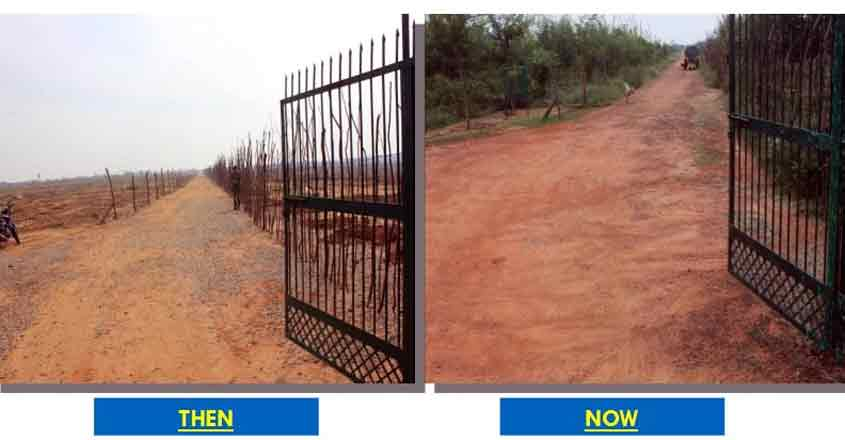 New Delhi: Freed of illegal miners, Asola Bhati Sanctuary is green again.