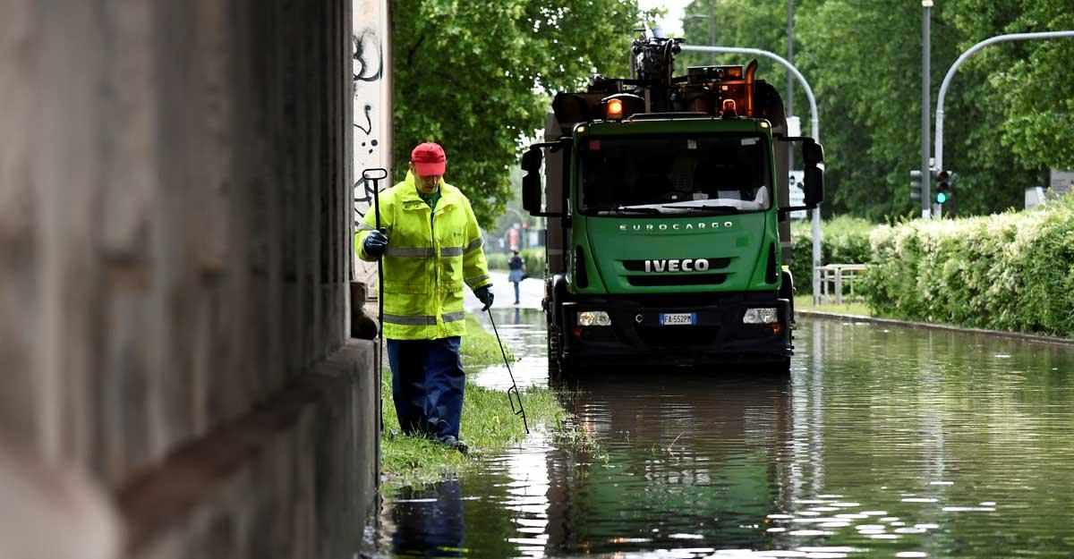 milan flood