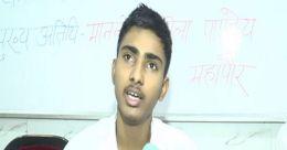Class 11 student from Kanpur develops air purifier robot