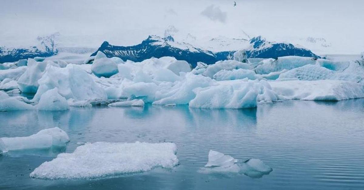 Warming climate leads to 'unreplenishable' glacier shrink.