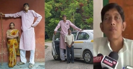 India's tallest man yet to find a bride, prodded by other woes of his height