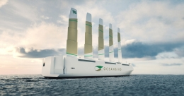 Wind power back into shipping, carrier emitting 90% less CO2 to be launched