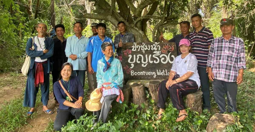 Thai villagers save ancestral forest with social media and academics
