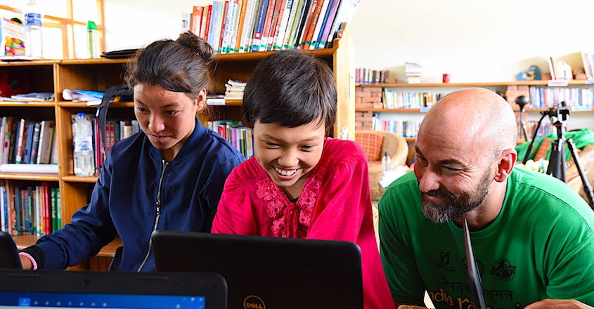 American father-daughter duo to make Arunchal kids tech savvy