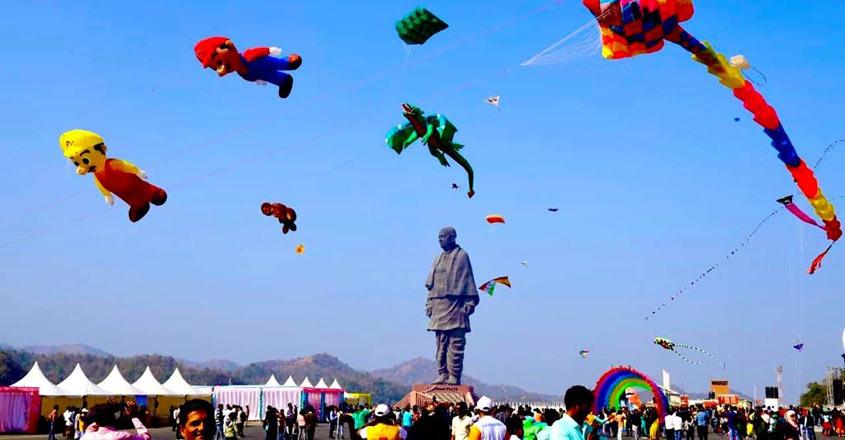 Ahmedabad Kite Festival.