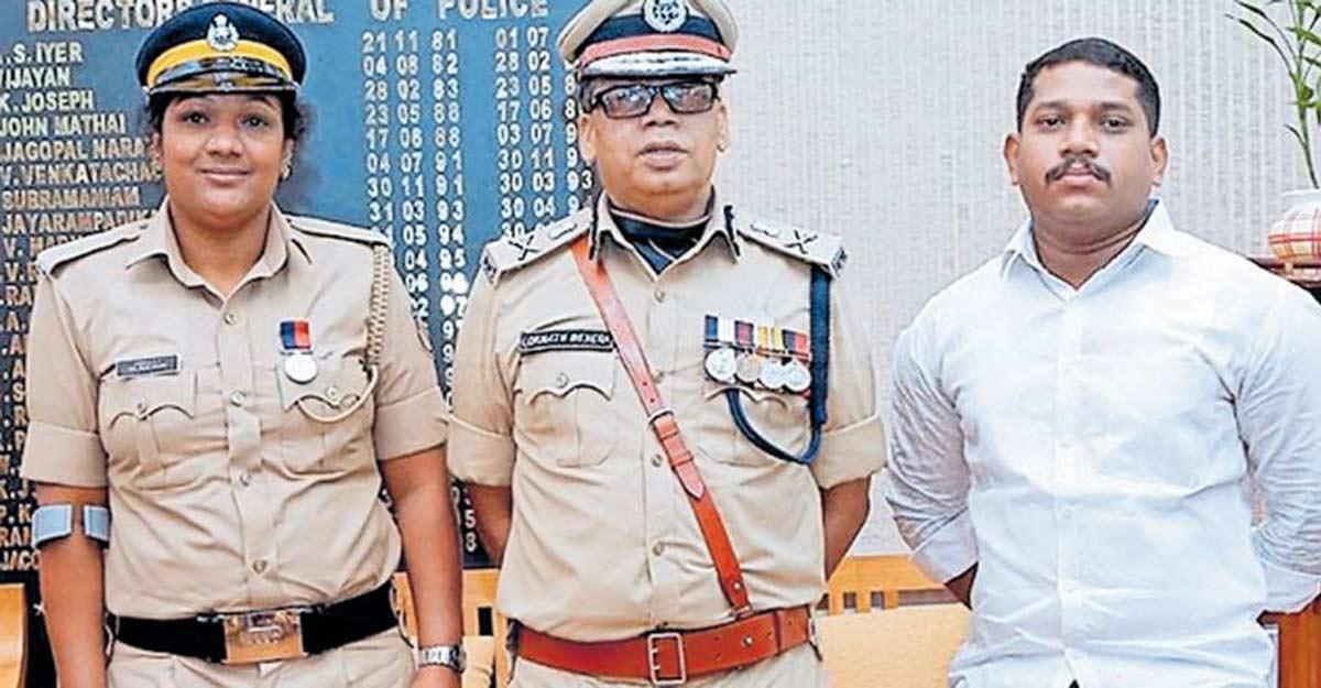 Police Medal for bedridden lady cop fighting cancer