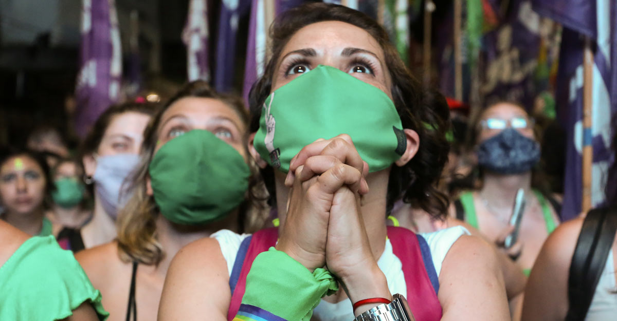Argentina votes to legalize abortion, triumph for women's rights campaigners