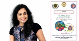 Prestigious honour Mrs Kerala India won eludes her due to lockdown