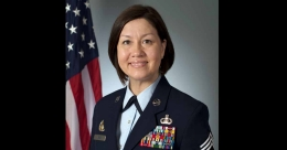 US Air Force makes history with first woman top enlisted leader