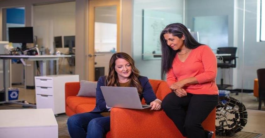 An online career community for women.